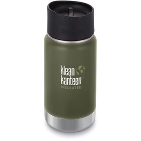 Klean Kanteen Wide Vacuum Insulated Borraccia con tappo per caffè 2.0 355ml, fresh pine matt
